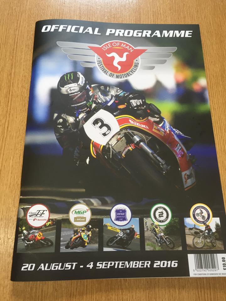Offizielles Programmheft Festival of Motorcycling 2016 Isle of Man