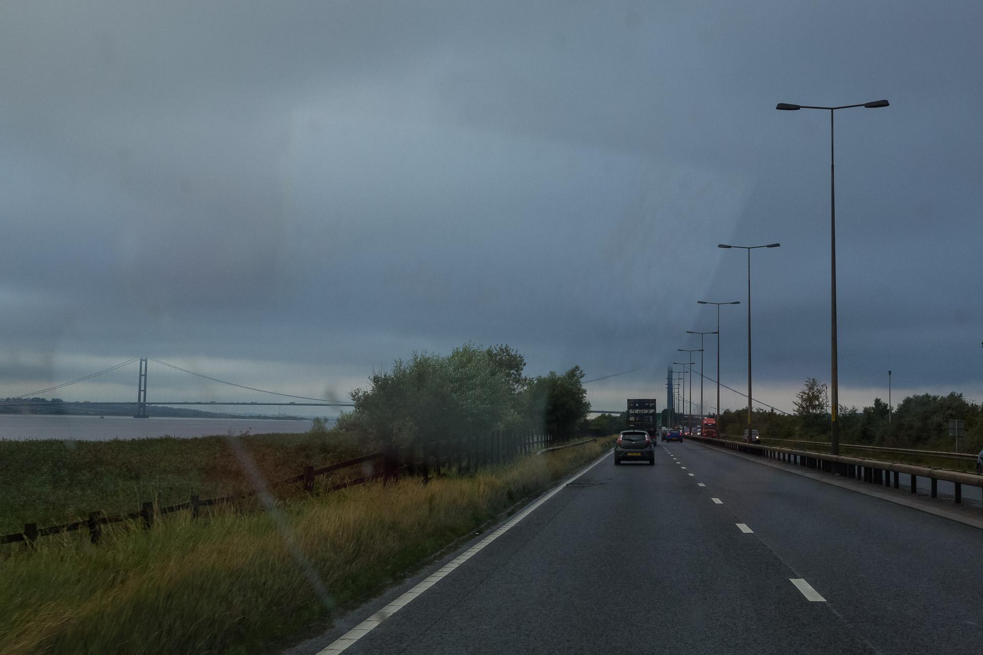 Durchquerung von Grobritannien von Ost nach West zur nächsten Fähre.