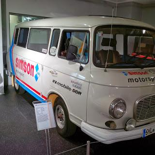 The original Enduro team truck, a Barkas B 1000